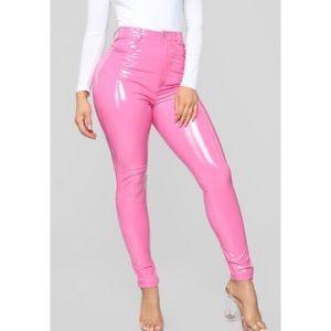 Fashion Nova PU Pants